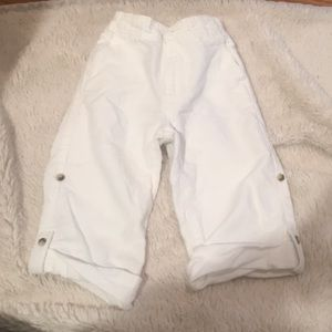 2t EUC Janie and jack roll up linen pant